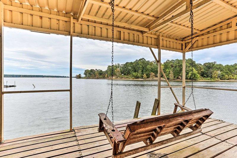 Fuga a Lanan Bay quando si soggiorna in questa casa per le vacanze.