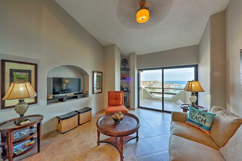 Con un interior de 1,859 pies cuadrados, la casa tiene capacidad para 8 personas.