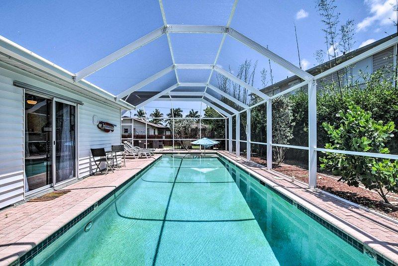 Relax at this Bonita Springs vacation rental home and soak up the sun!