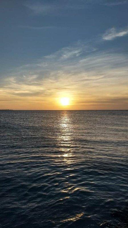 Splendidi tramonti a Puerto Morelos, Quintana Roo