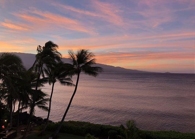 View from Lanai at Sunrise
