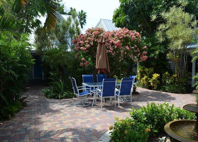 Lush Courtyard