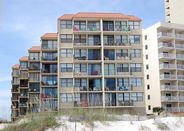 Gulf House from Beach#2