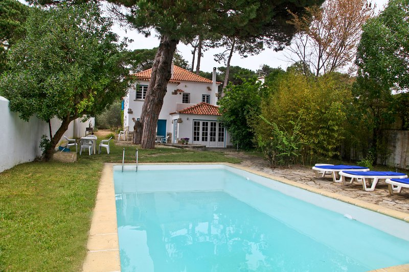Casa Turquesa - Villa near beaches of Praia das Macas, Praia Grande and Sintra, holiday rental in Azoia