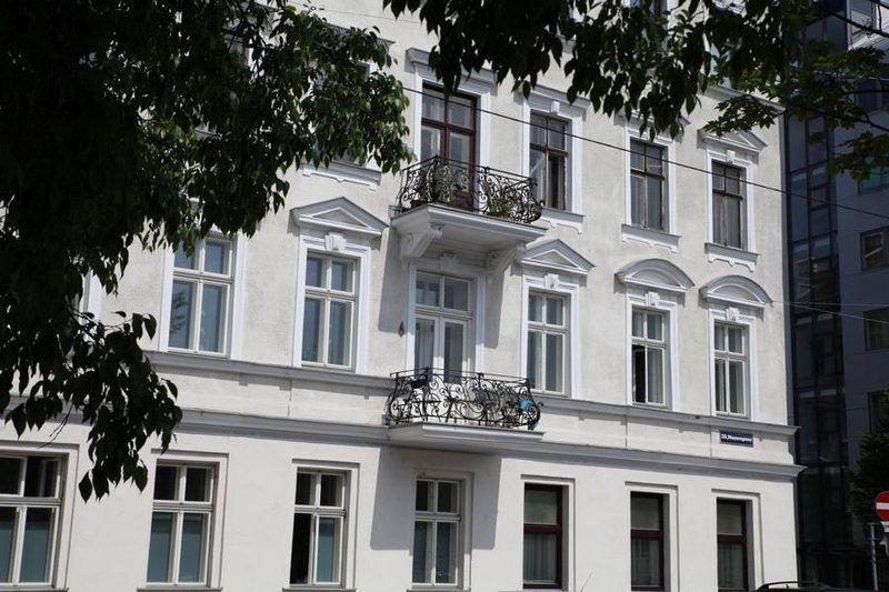 building, exterior view