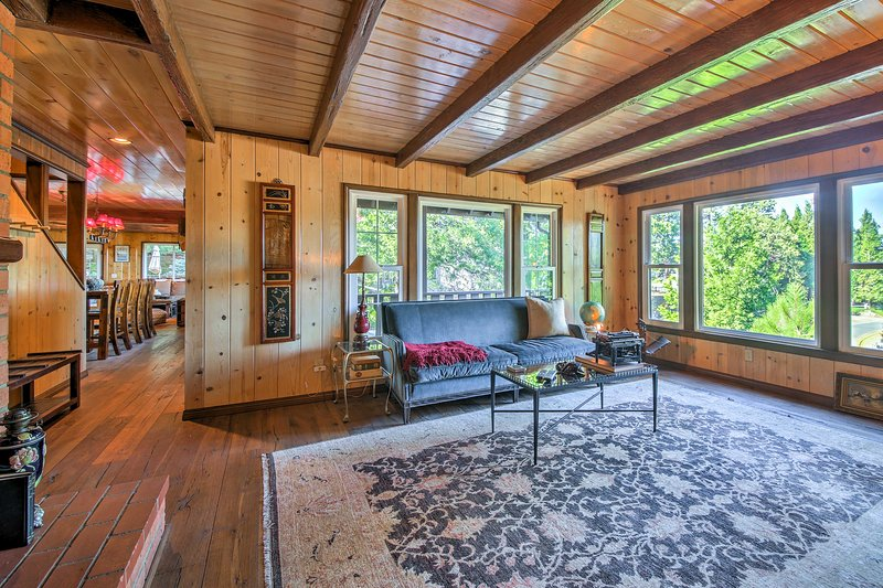 Lake Arrowhead Chalet w/Luxury Deck+Fire Pit Has Washer and ... on lake house dock signs, lake house dock ideas, cabin dock designs,