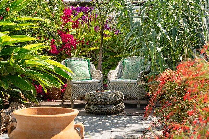 Finca Botanico - Secret Garden Villa, location de vacances à Guatiza
