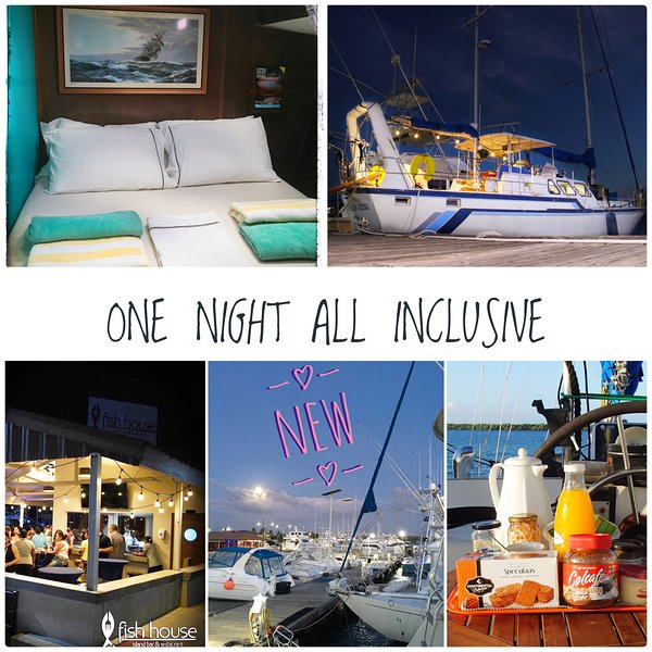 One night - All Inclusive - on board a 61' Yacht
