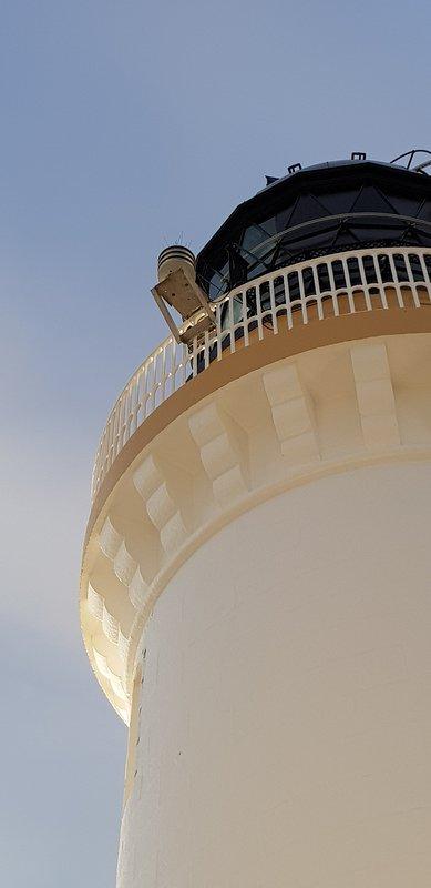 Le phare a été construit en 1849 sous la supervision d'Alan Stevenson