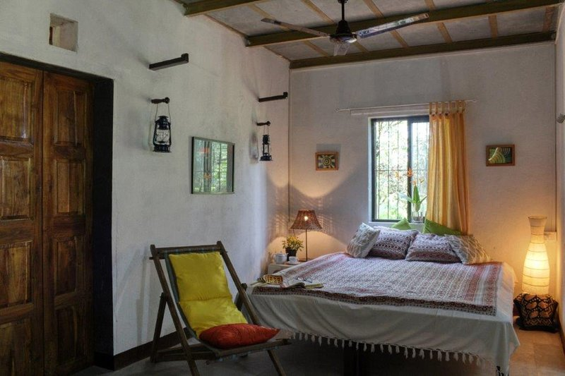 Rustic village charm and yet very comfortable bedrooms