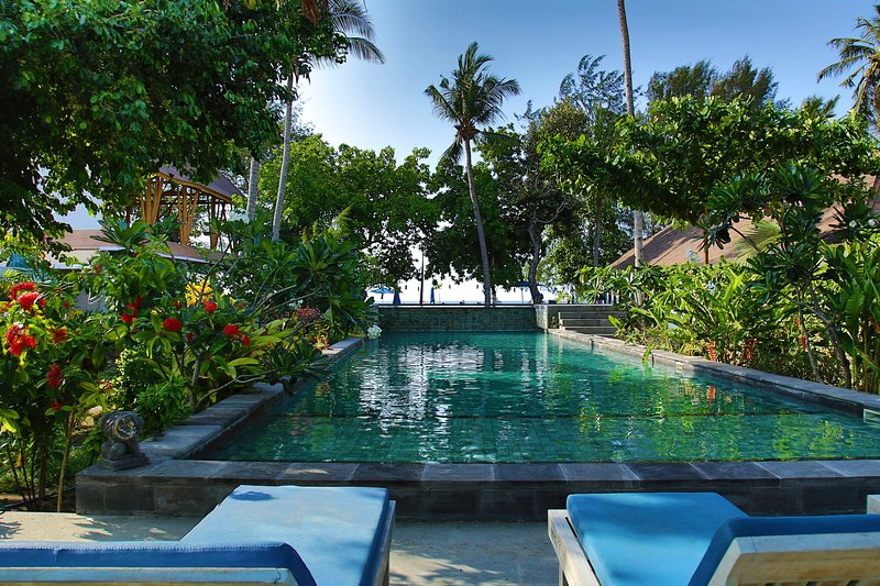 Deluxe Double with Pool View, holiday rental in Gili Air