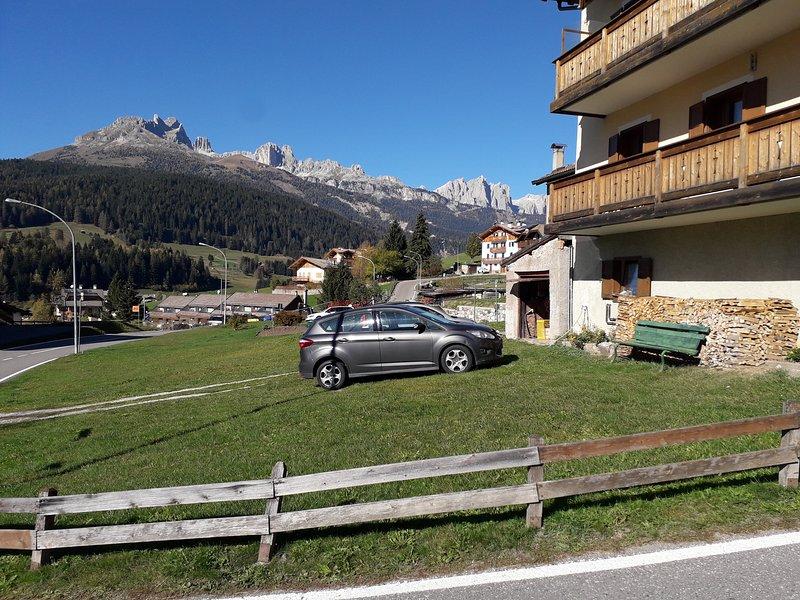 Casa con vista dolomiti, vacation rental in Bellamonte