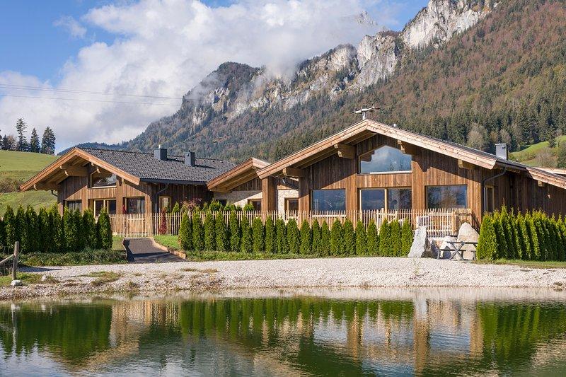 Narzenhof Wellness Chalet Seeblick St.Johann in Tirol, vacation rental in St Johann in Tirol