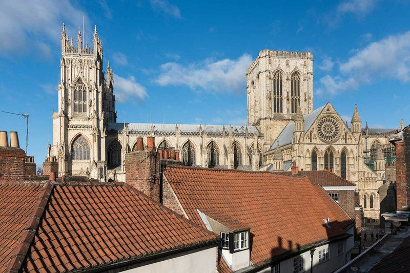 Fabulous view of York Minster from a second floor bedroom