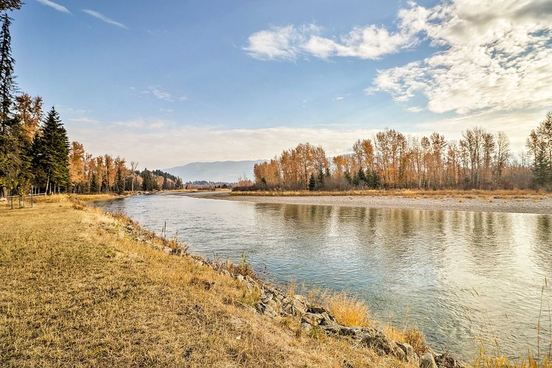 From the hiking trails to the rushing rivers, Kalispell is an outdoorsy paradise