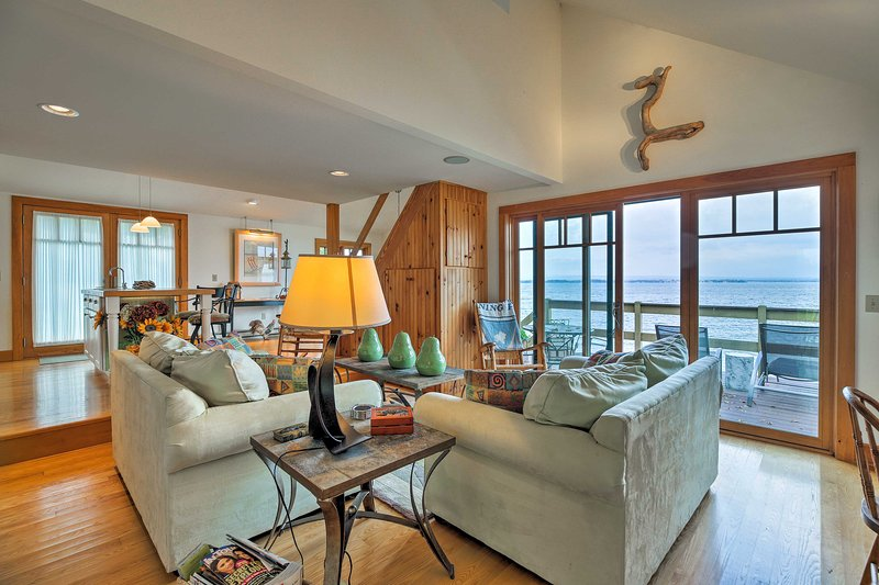 Experience a true New England getaway at this 2BR, 2BA vacation rental!
