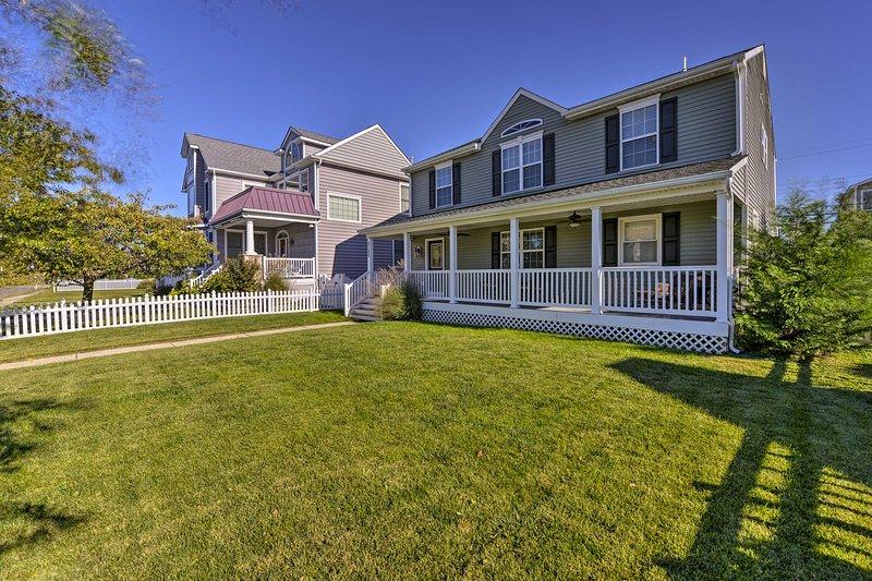 Ocean City awaits at this 6-bedroom, 3-bath vacation rental home!