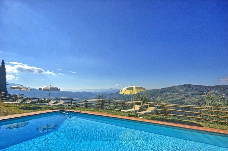 Lastro Villa Sleeps 16 with Pool Air Con and WiFi - 5624799, location de vacances à Pontassieve