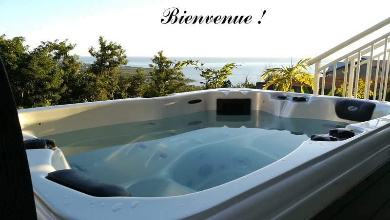 You will love relaxing in the Jacuzzi!