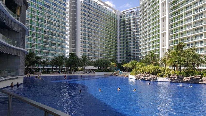 Azure Urban Resort Residences - Miami Tower .Cozy one bedroom cityview furnished, aluguéis de temporada em Paranaque