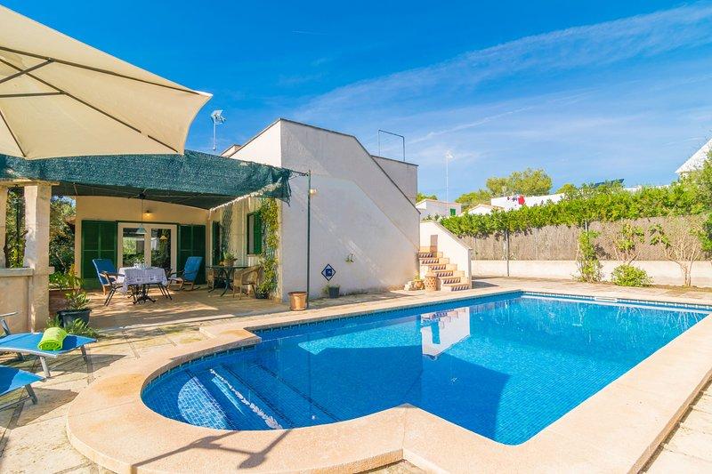 CAN BOLENO - Villa for 6 people in sa Ràpita, location de vacances à Sa Rapita