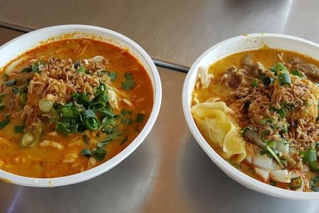 Our Favourite Meal From the Parap Markets Curry Laksa!