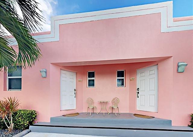 Tripadvisor limescape at art deco beach bungalows 1 block to