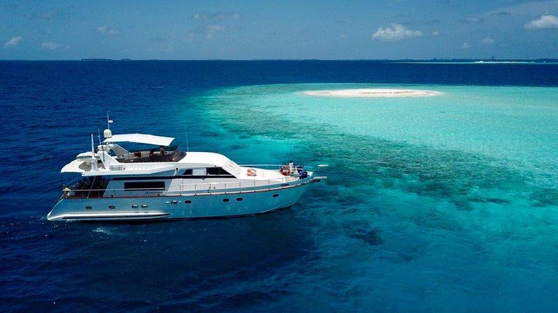 Fascination Maldives Luxury Falcon yacht, vacation rental in Maldives