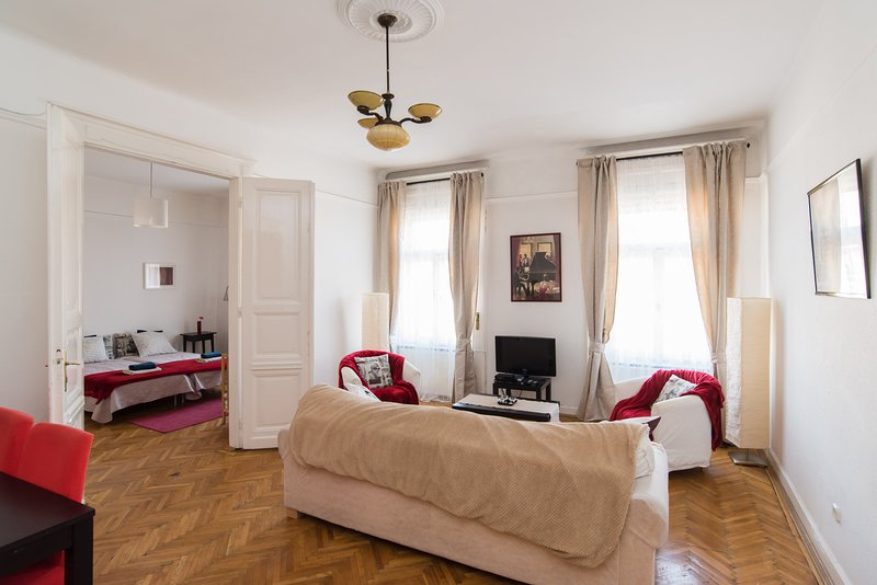Friendly apt in Budapest center just behind Liszt Ferenc Sq, alquiler vacacional en The Republic of Zubrowka