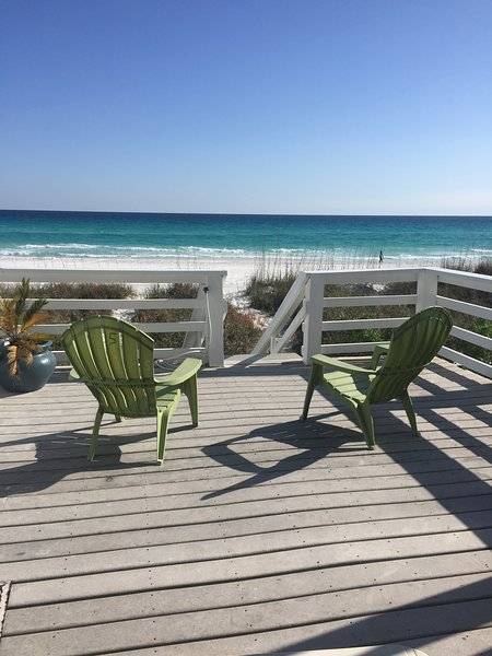 SEAHORSE townhouse on the Gulf with beautiful Ocean Vuews, holiday rental in Destin