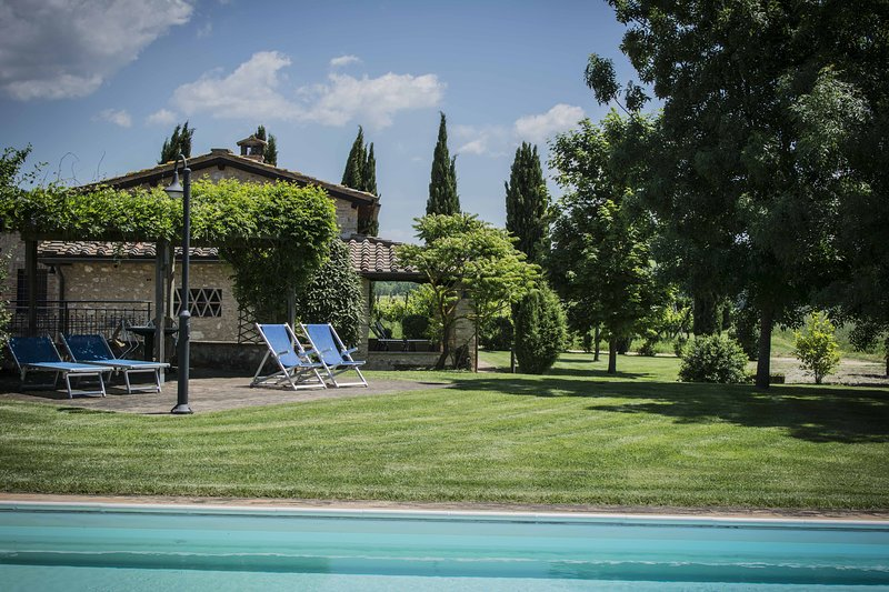 Beatifull villa with private pool, holiday rental in Monteriggioni