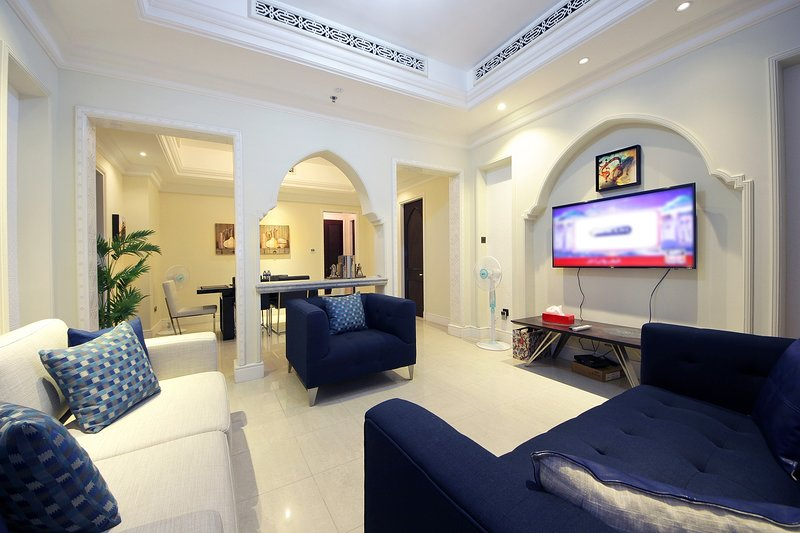 LUXUARY 2BEDROOM IN Al Tajer near to Dubai Fountain, holiday rental in Hatta