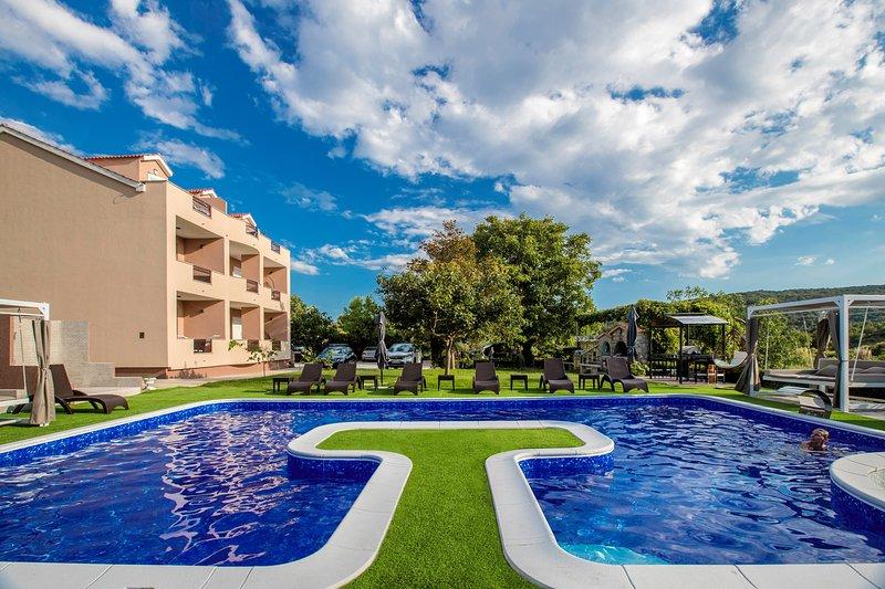 Apartman Villa Subic C1, location de vacances à Kampor