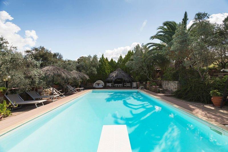 Casa Conti di Sotto  VIP Area 3 bedrooms ,swimming pools, Spa, sauna, closed sea, holiday rental in Bagno di Gavorrano