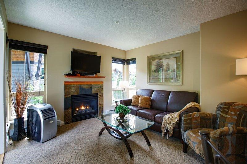 Détendez-vous et ressourcez-vous dans le confortable salon après une journée passée à l'extérieur.