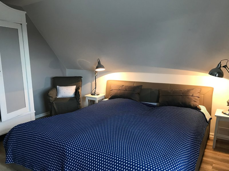 Renoviertes Schlafzimmer