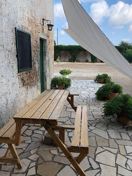 Monolocale in BioMasseria, vacation rental in Maruggio