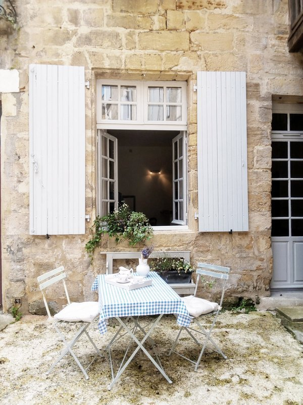 Welcome to the Authentic Historical Apartment for two in Sarlat!