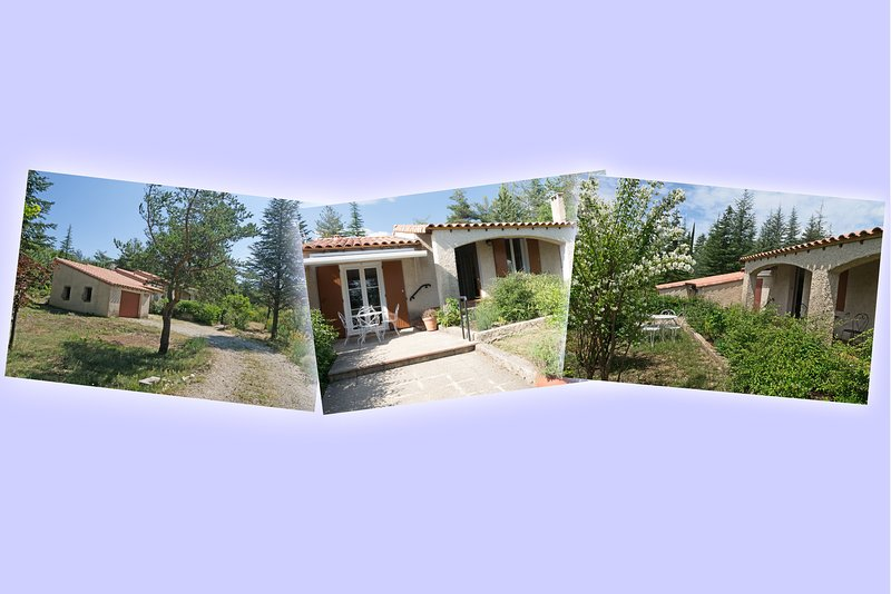 Villa en Haute-Provence au flanc de la Montagne de Lure (2 à 8 personnes), holiday rental in Cruis