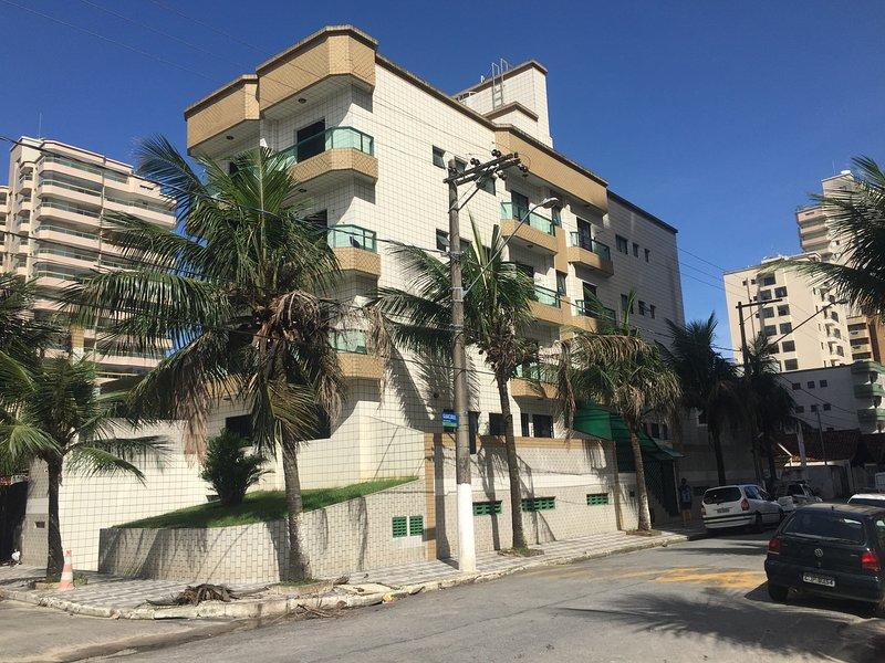 Apartamento 1 dormitório - Praia Grande, location de vacances à Praia Grande