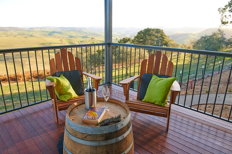 A large undercover verandah is the perfect place to take in the views, enjoy the wildlife and unwind