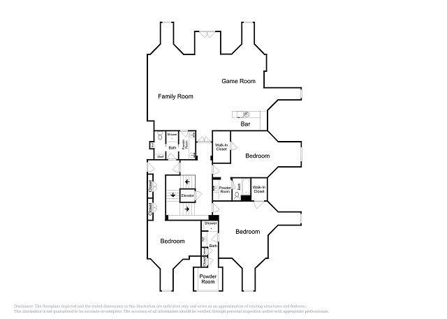 Layout do 3º andar
