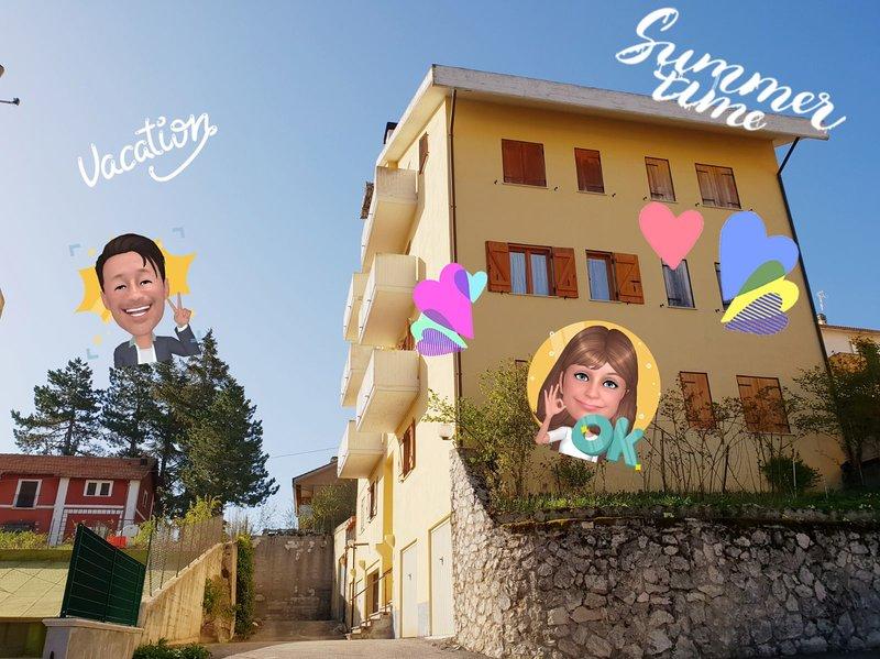 Delizioso Panna e Cioccolato, holiday rental in Fontecchio