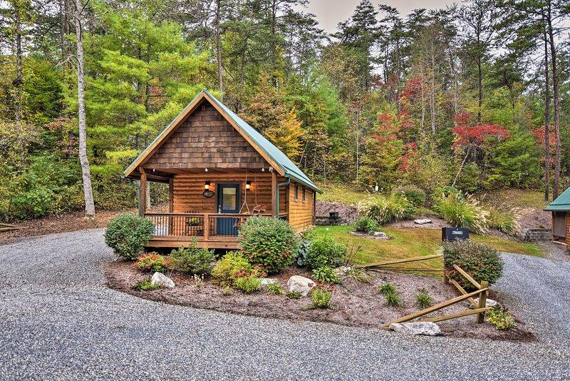Dog-Friendly Weaverville Cabin on 17 Serene Acres, holiday rental in Weaverville