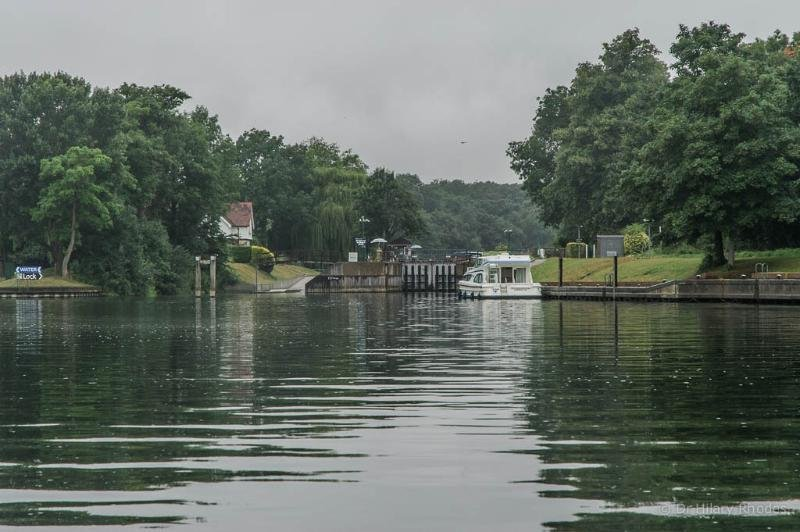 Boveney Lock on the Thames. A few minutes away by car - on The Thames Walk.