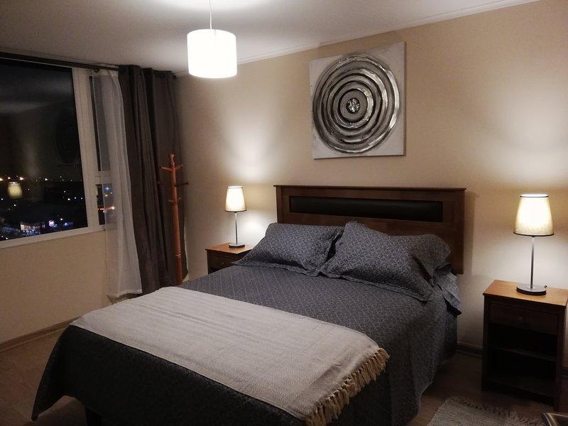 Departamento 1 Dormitorio Edificio Centro Blanco amoblado, holiday rental in Vilcun