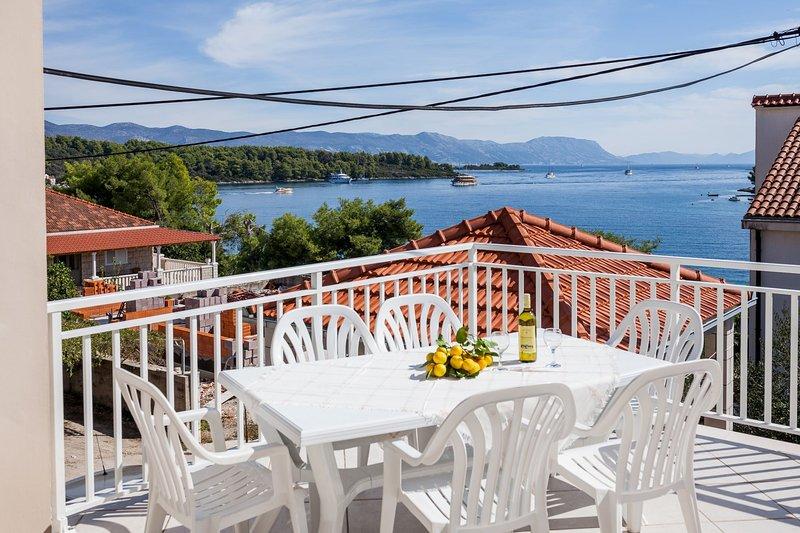 Dado A1(6+2) - Lumbarda, vacation rental in Lumbarda