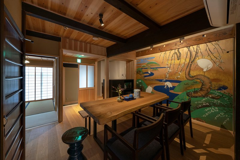 Traditional Gion Machiya | Private Garden, Kitchen, Luxurious Bathroom, location de vacances à Kyoto