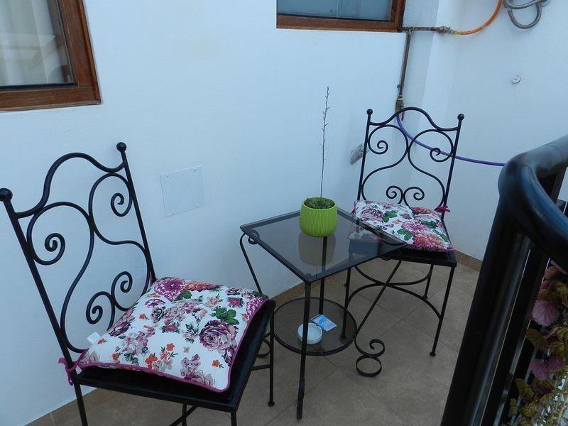 el pequeño balcón
