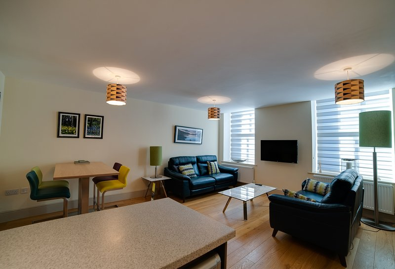 CS Serviced Apartments Luxury One Bedroom Executive Apartment, vacation rental in Aldingham